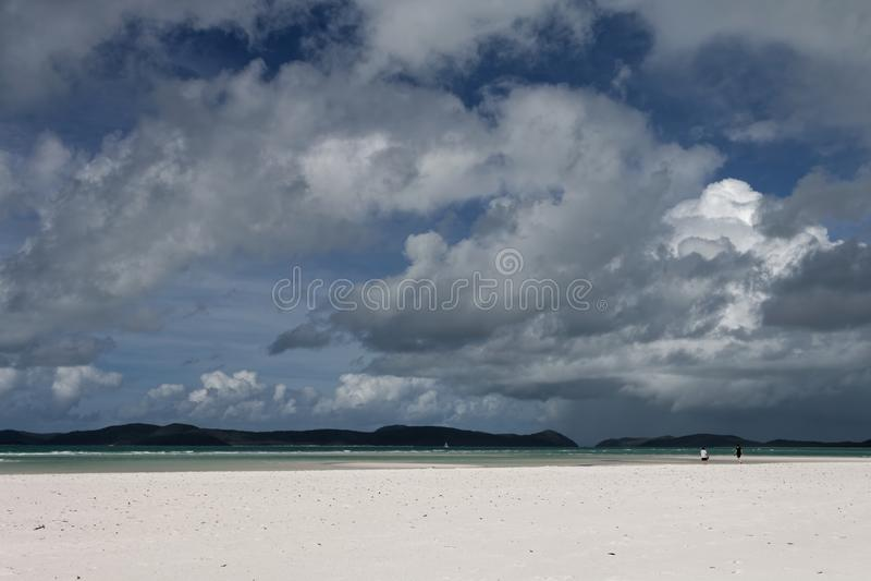 Αυστραλιανή παραλία σε Whitsundays 4 στοκ φωτογραφία με δικαίωμα ελεύθερης χρήσης