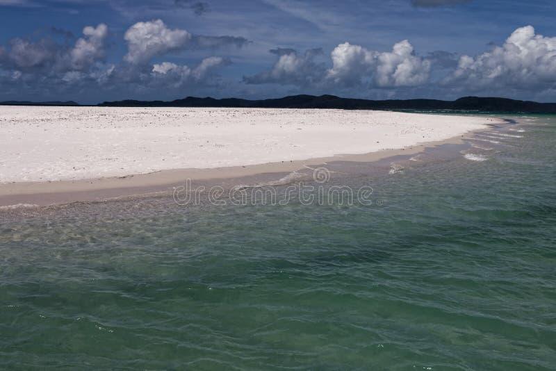 Αυστραλιανή παραλία σε Whitsundays στοκ εικόνα