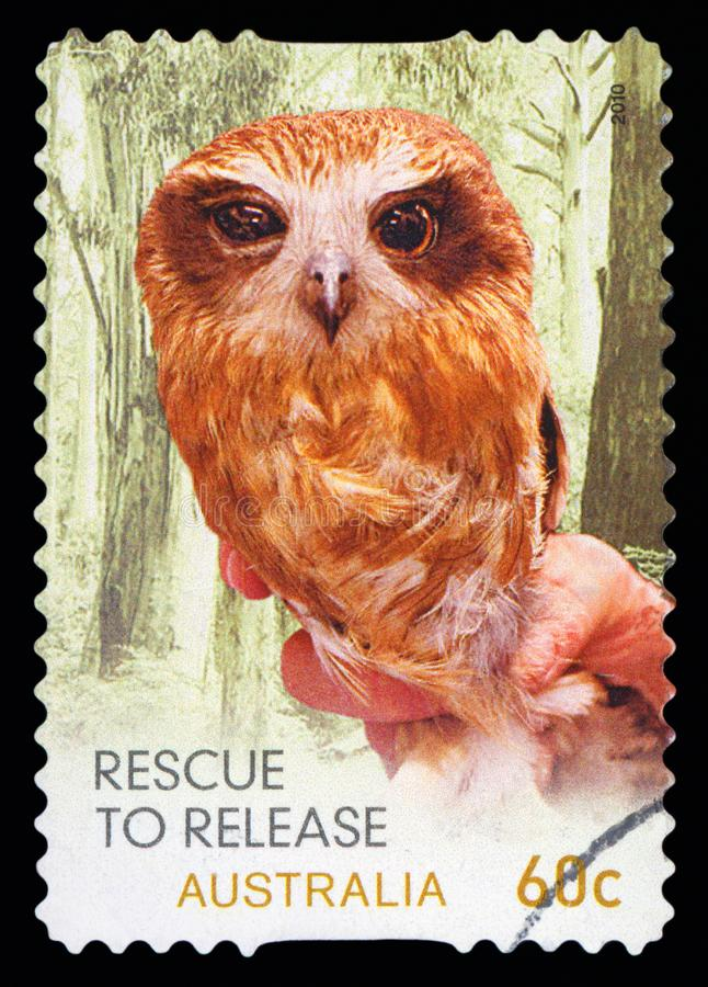ΑΥΣΤΡΑΛΙΑ - γραμματόσημο στοκ εικόνες