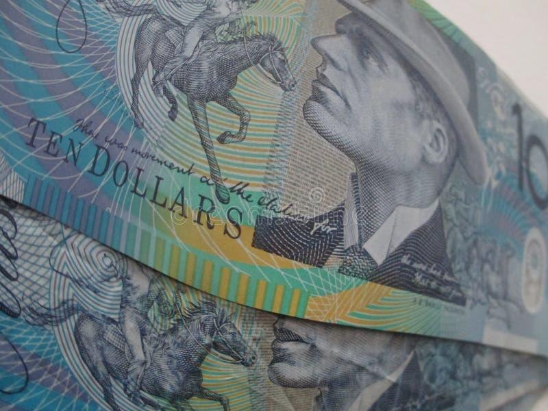 αυστραλιανά δολάρια στοκ εικόνα με δικαίωμα ελεύθερης χρήσης