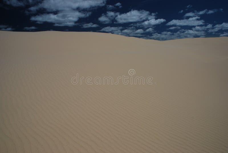 Αυστραλιανός αμμόλοφος άμμου στοκ εικόνα με δικαίωμα ελεύθερης χρήσης