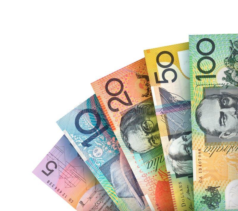 Αυστραλιανό υπόβαθρο δολαρίων στοκ φωτογραφίες με δικαίωμα ελεύθερης χρήσης