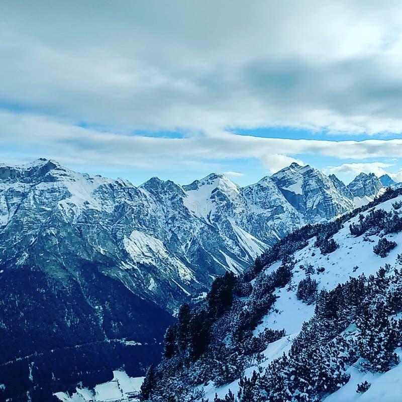 αυστριακά βουνά στοκ φωτογραφίες