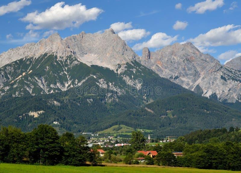 Αυστριακά όρη, Berchtesgaden στοκ φωτογραφίες με δικαίωμα ελεύθερης χρήσης