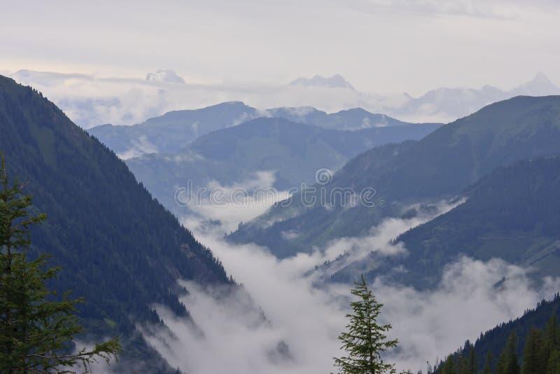 Αυστριακές Άλπεις στο εθνικό πάρκο Hohe Tauern στοκ φωτογραφίες
