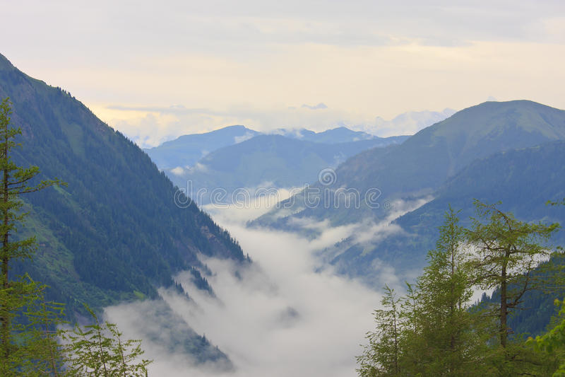 Αυστριακές Άλπεις του εθνικού πάρκου Hohe Tauern στοκ φωτογραφία με δικαίωμα ελεύθερης χρήσης
