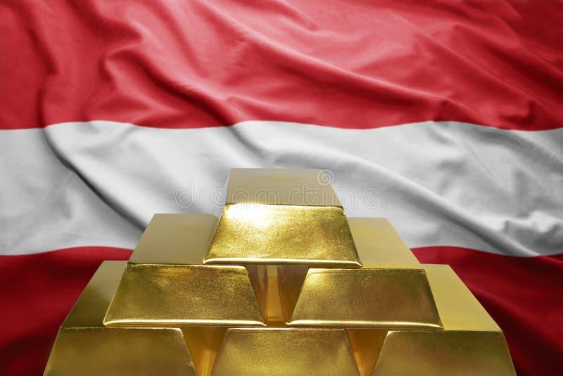 Αυστριακές χρυσές επιφυλάξεις στοκ εικόνες με δικαίωμα ελεύθερης χρήσης