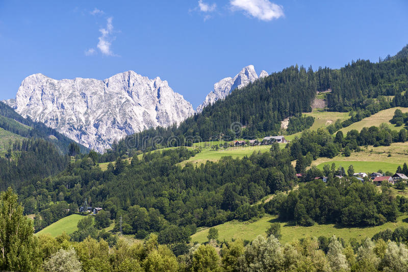 Αυστριακό τοπίο στοκ εικόνες