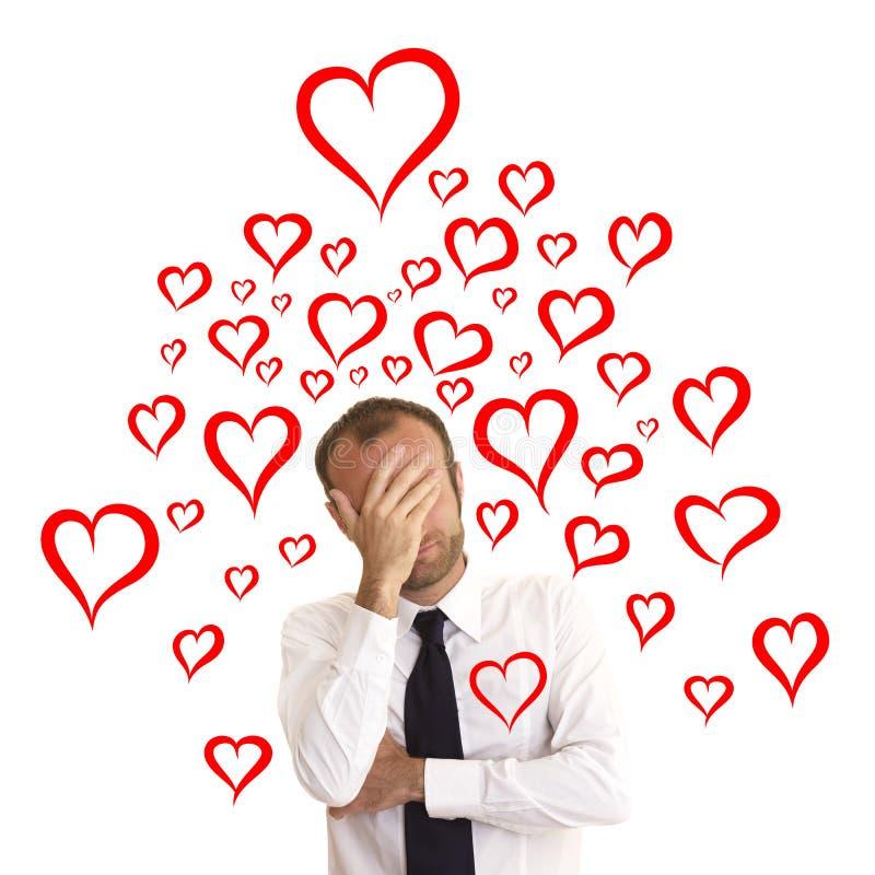 Αυταπάτη αγάπης στοκ εικόνες