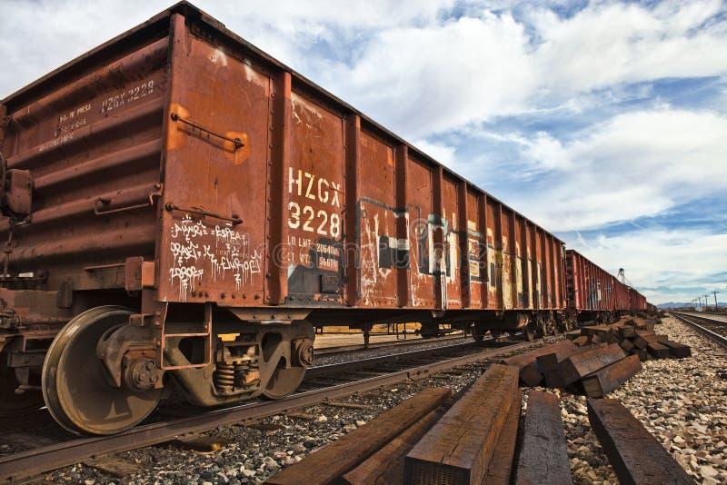 Αυτοκίνητα σιδηροδρόμου στοκ φωτογραφίες