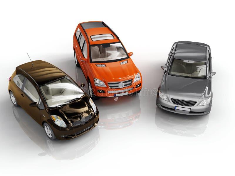 αυτοκίνητα απεικόνιση αποθεμάτων