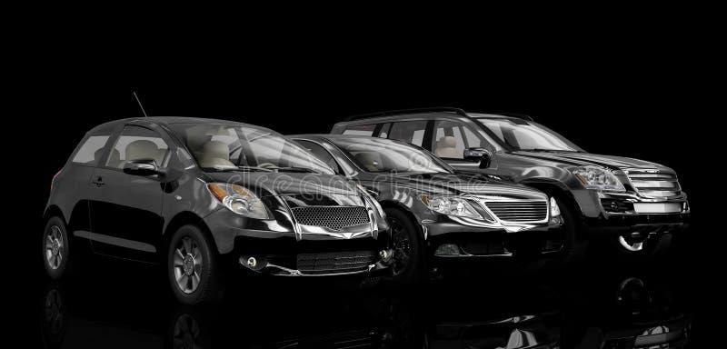 αυτοκίνητα διανυσματική απεικόνιση