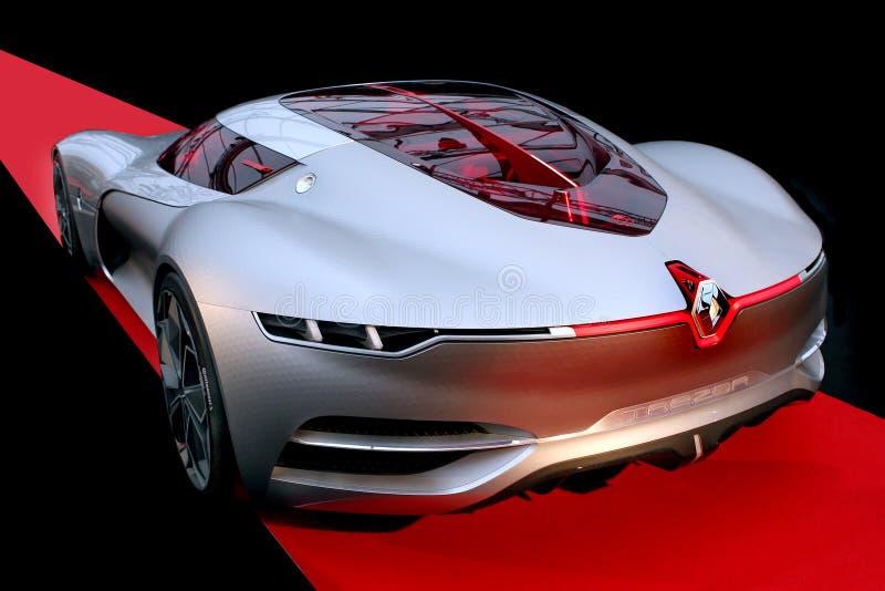 Αυτοκίνητο έννοιας της Renault Trezor στοκ φωτογραφία