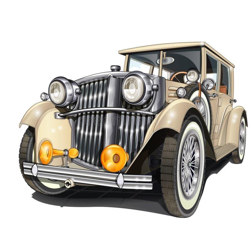 αυτοκίνητο αναδρομικό ελεύθερη απεικόνιση δικαιώματος