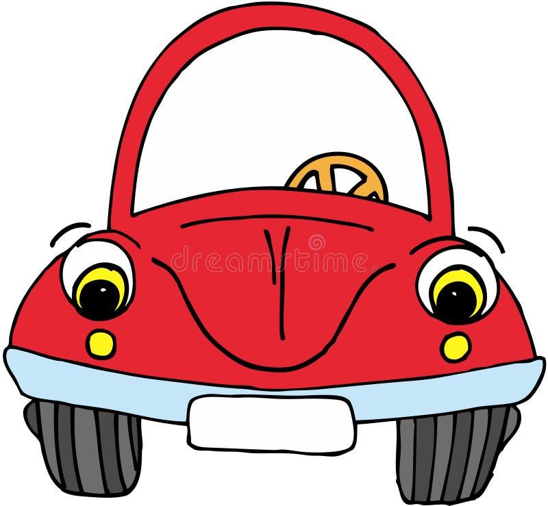 αυτοκίνητο αστείο απεικόνιση αποθεμάτων
