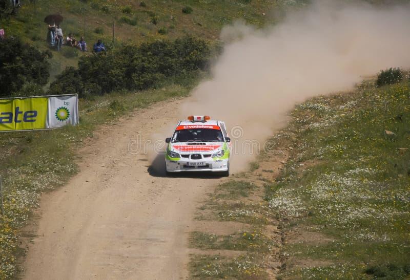 Αυτοκίνητο ασφάλειας στη συνάθροιση de Πορτογαλία 2013 στοκ φωτογραφίες