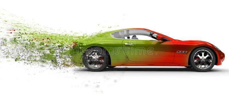 αυτοκίνητο γρήγορα ελεύθερη απεικόνιση δικαιώματος