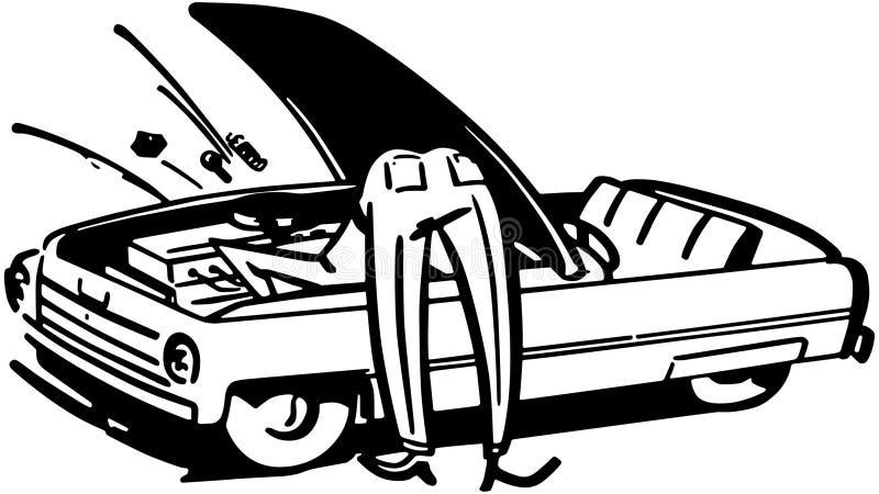 Αυτοκίνητο καθορισμού ατόμων διανυσματική απεικόνιση
