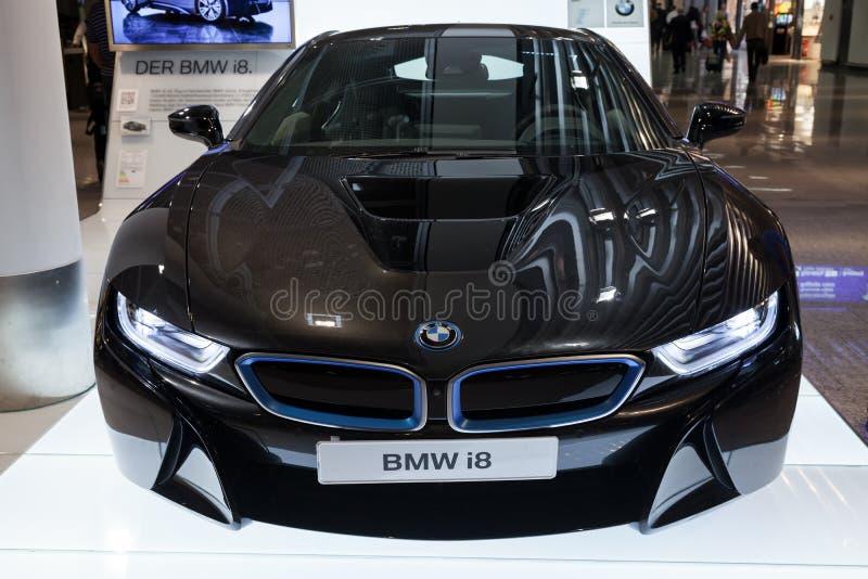 Αυτοκίνητο καινοτομίας σειράς της BMW I8 στοκ φωτογραφία με δικαίωμα ελεύθερης χρήσης