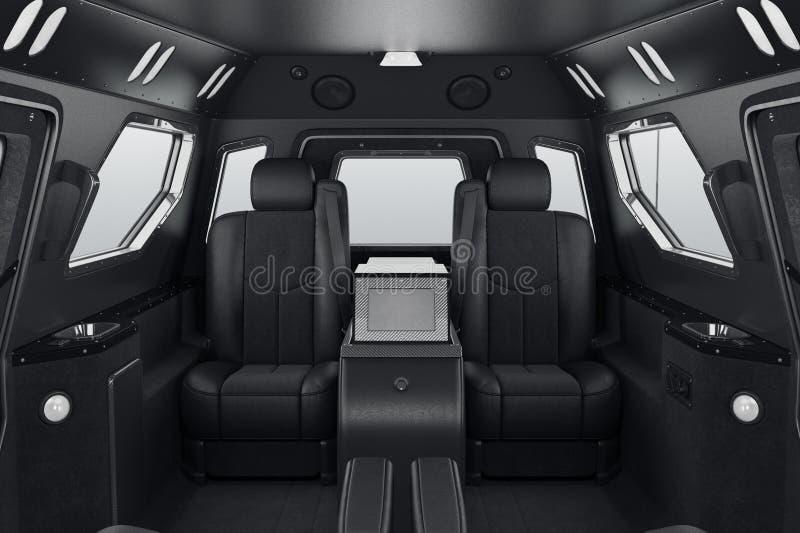 Αυτοκίνητο μέσα στα καθίσματα ελεύθερη απεικόνιση δικαιώματος
