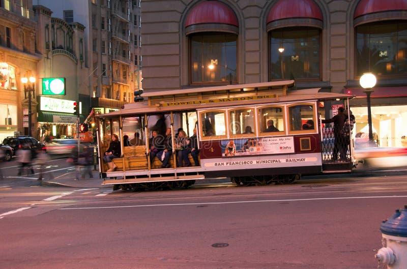 Αυτοκίνητο οδών του Σαν Φρανσίσκο στοκ φωτογραφίες