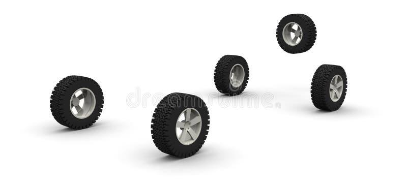 αυτοκίνητο πέντε νέο από τι&sigm ελεύθερη απεικόνιση δικαιώματος