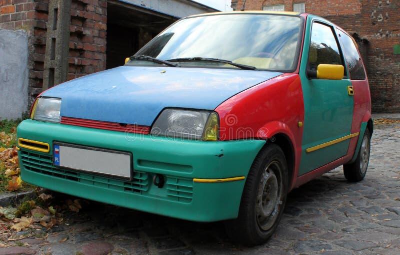 αυτοκίνητο πολύχρωμο στοκ εικόνες