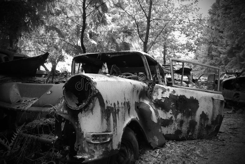 αυτοκίνητο που οξυδώνε&t στοκ εικόνες με δικαίωμα ελεύθερης χρήσης