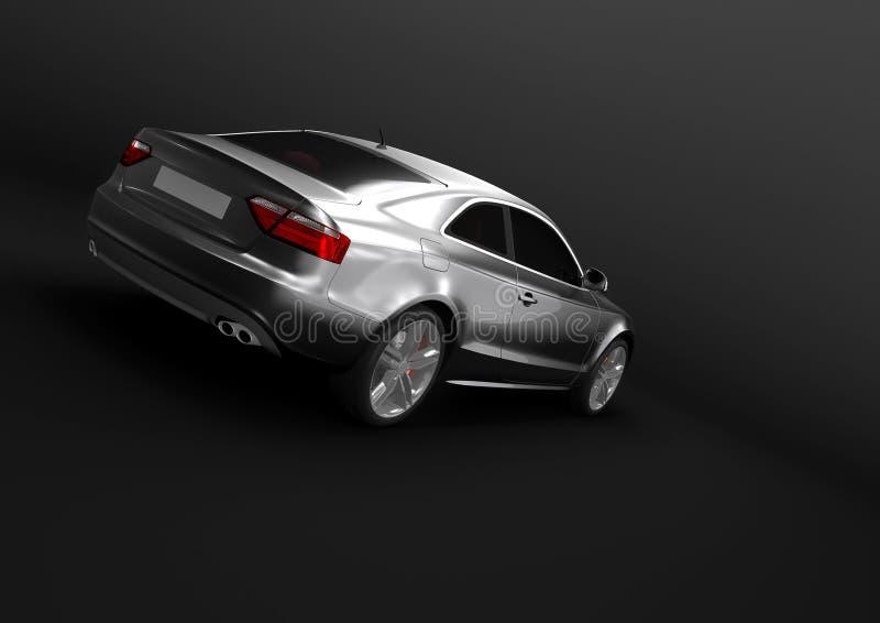 Αυτοκίνητο πολυτέλειας σε ένα σκοτεινό υπόβαθρο στοκ φωτογραφία
