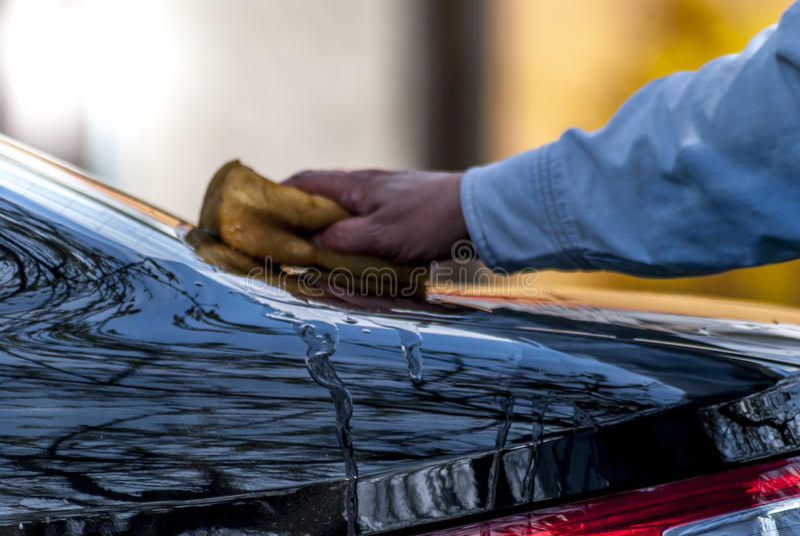 Αυτοκίνητο πλυσίματος στοκ εικόνες