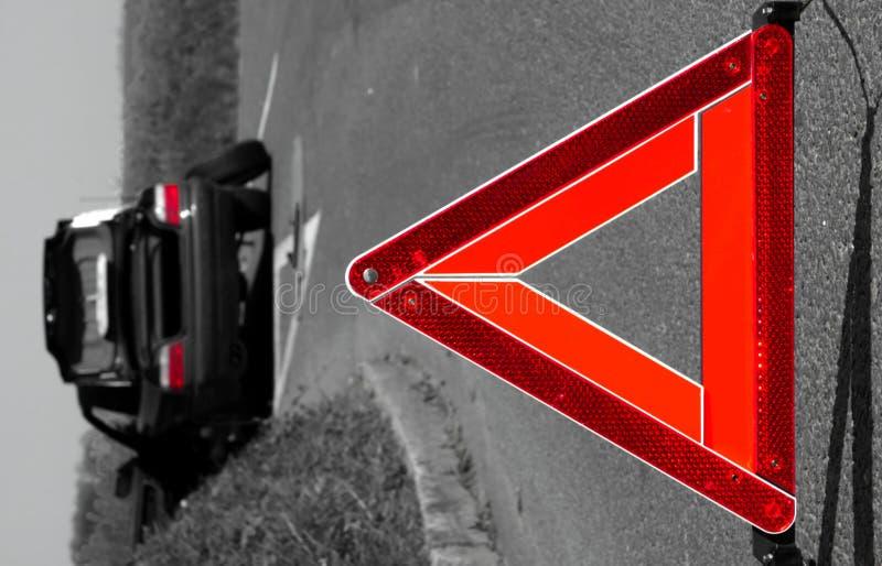αυτοκίνητο σπασιμάτων κάτ&o στοκ εικόνες