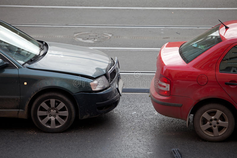 Αυτοκίνητο συντριβής στοκ φωτογραφία με δικαίωμα ελεύθερης χρήσης