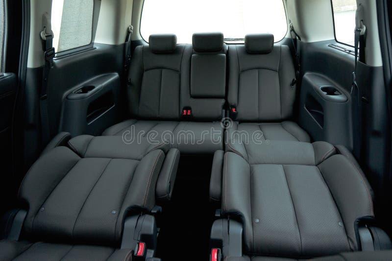 Αυτοκίνητο 7 της Ιαπωνίας εσωτερικό καθισμάτων στοκ φωτογραφίες