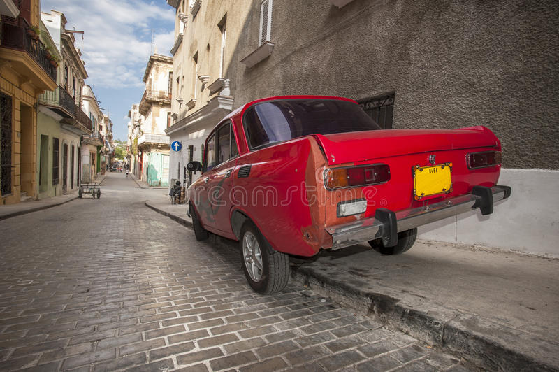 Αυτοκίνητο 2 της Κούβας στοκ φωτογραφία
