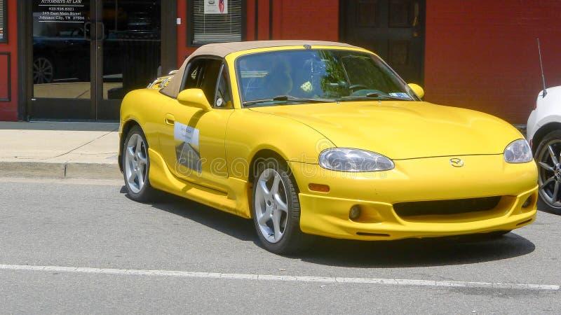 Αυτοκίνητο της Mazda Miata στοκ εικόνες με δικαίωμα ελεύθερης χρήσης