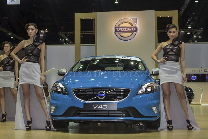Αυτοκίνητο της VOLVO V40 στοκ φωτογραφία