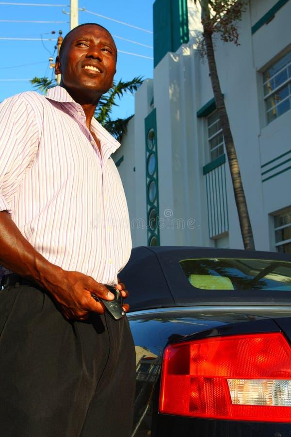 αυτοκίνητο το άτομό του στοκ φωτογραφίες