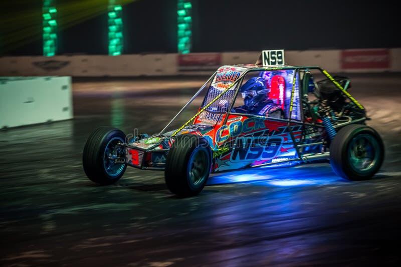 Αυτοκίνητο Autograss, Autosport διεθνές το 2016 στοκ φωτογραφία με δικαίωμα ελεύθερης χρήσης