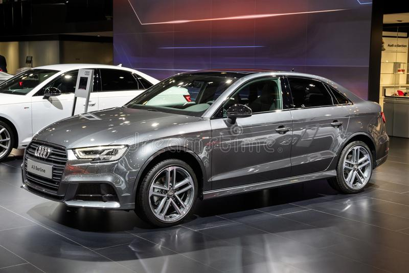 Αυτοκίνητο Berline Audi A3 στοκ εικόνα με δικαίωμα ελεύθερης χρήσης