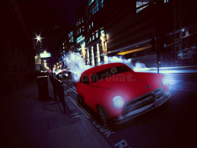 Αυτοκίνητο chace στοκ εικόνες με δικαίωμα ελεύθερης χρήσης