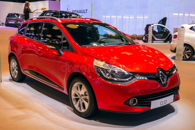 Αυτοκίνητο clio της Renault στοκ φωτογραφία με δικαίωμα ελεύθερης χρήσης