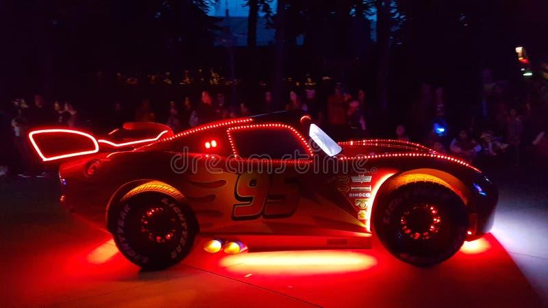 Αυτοκίνητο Nightview McQueen στοκ φωτογραφίες με δικαίωμα ελεύθερης χρήσης