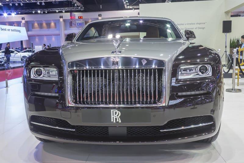 Αυτοκίνητο Rolls-$l*royce wraith στοκ φωτογραφία