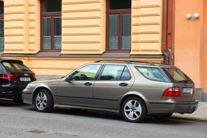 Αυτοκίνητο Saab στοκ φωτογραφία με δικαίωμα ελεύθερης χρήσης