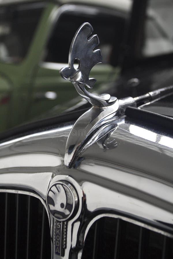 Αυτοκίνητο Skoda παλαιμάχων στοκ εικόνες