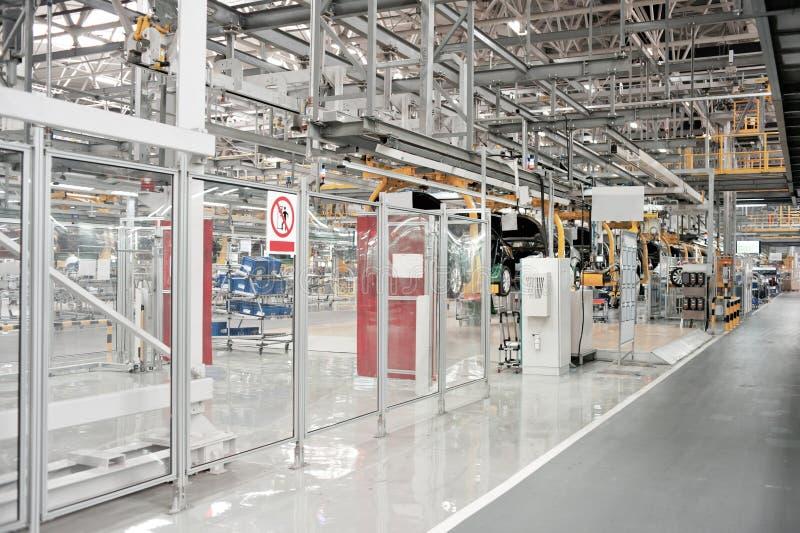 Αυτοκινητική επιθεώρηση εργαστηρίων παραγωγής στοκ εικόνα με δικαίωμα ελεύθερης χρήσης
