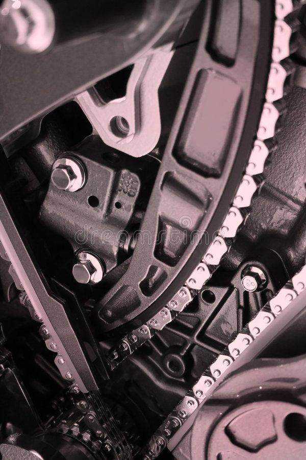 αυτοκινητική μηχανή στοκ φωτογραφίες