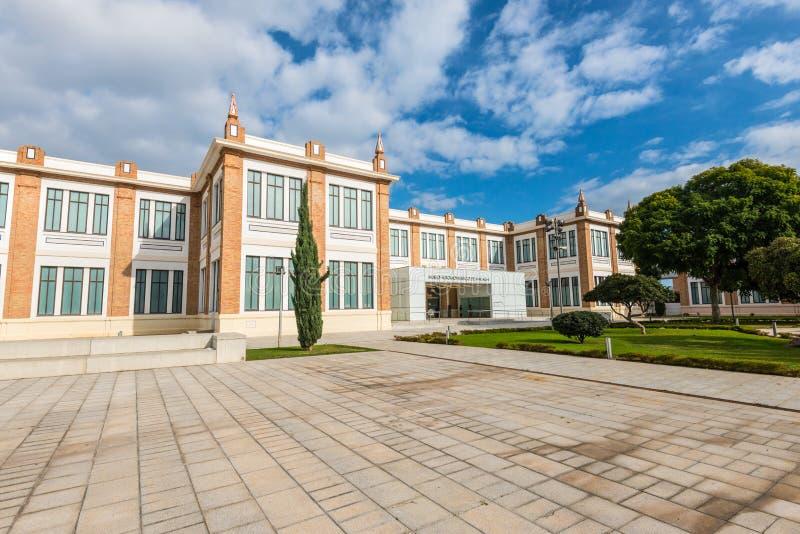 Αυτοκινητικό μουσείο στη Μάλαγα, Ισπανία στοκ φωτογραφίες