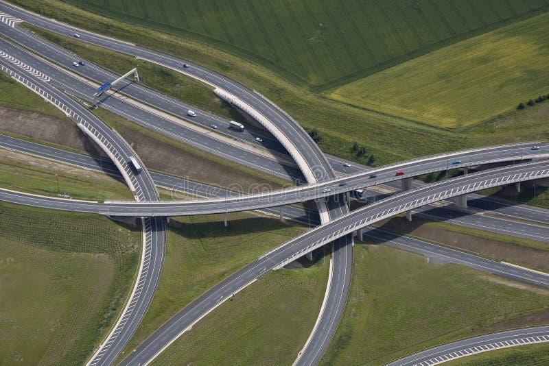 αυτοκινητόδρομος συνδέσεων στοκ εικόνα με δικαίωμα ελεύθερης χρήσης