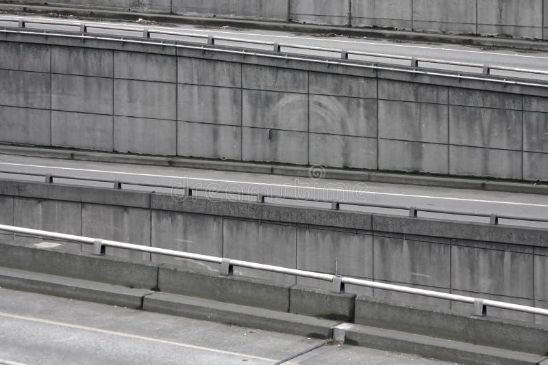 αυτοκινητόδρομος onramps στοκ φωτογραφία